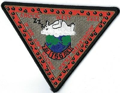 Us Coast Guard Av Det 156 Arctic West 2002 Patch