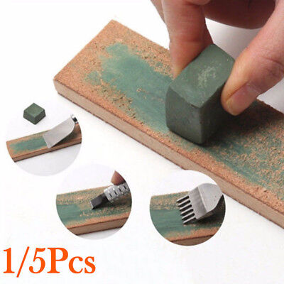 Green Bar Polishing Wax Compound Leather Strop Paste Sharpening Tool Durable Hot