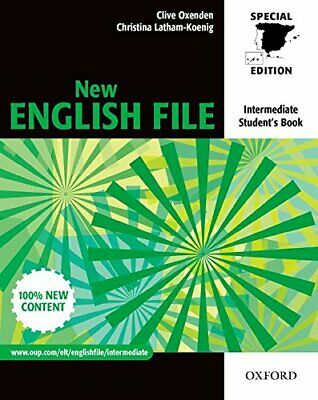 New english file intermediate : Student�s book Book The Cheap Fast Free Post