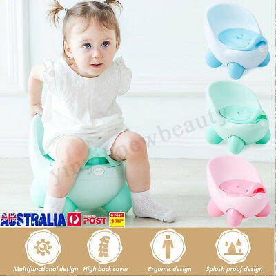 2in1 Kids Toilet Seat Baby Toddler Training Potty Trainer Safety Urinal Chair
