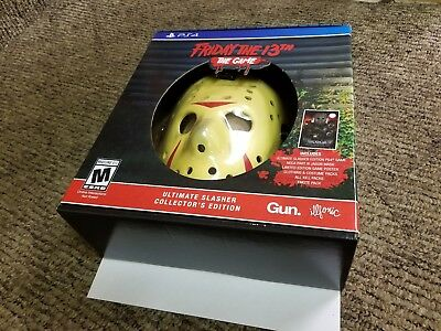 Friday The 13th: The Game Ultimate Slasher Collector's Edition PlayStation 4 new
