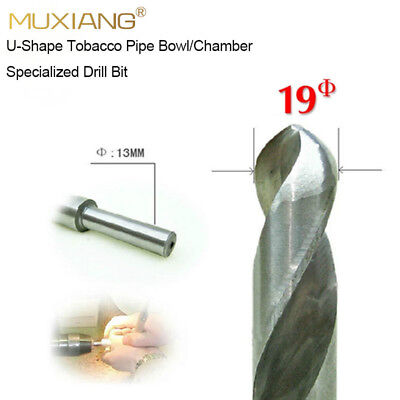 Available U-shape 19mm Smoker Chamber Tobacco Pipe Bowl Drill Bit Bench Drill