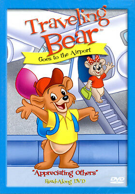 Traveling Bear Goes to the Airport (DVD) **New**