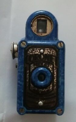 Flawed Condition RAREST Blue Coronet MIDGET Working but Chipped