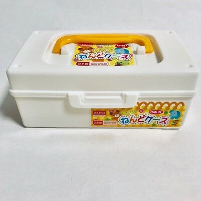 Daiso Japan Soft Clay Clay case clay pot Clay storage case Japan limted