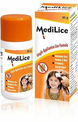 Medilice Single Application Lice Formula 30g