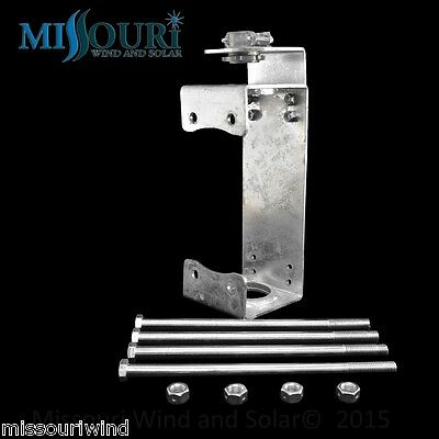 Galvanized PMG Mounting Bracket for Wind Turbine Generator fits Freedom ll pmg