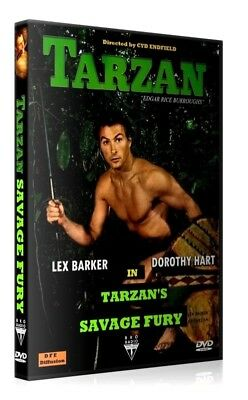 TARZAN DEFENSEUR DE LA JUNGLE - Lex Barker - French subtitles Français DVD