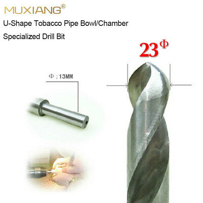 23mm Smoker Chamber Tobacco Pipe Bowl Drill Bit Bench Drill Available U-shape