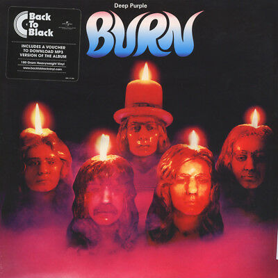Deep Purple - Burn (Vinyl LP - 1974 - EU - Reissue)
