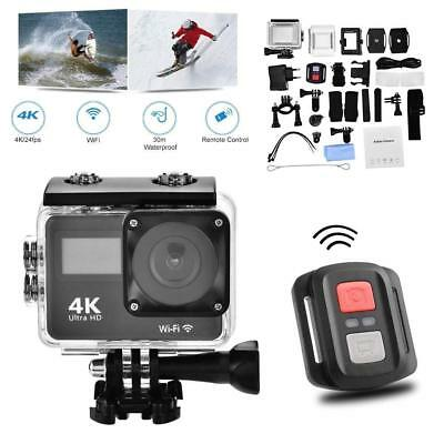 1080P Wifi  4K Ultra HD Sport Action Camera DVR DV Camcorder Waterproof Go Pro