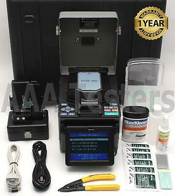 Fujikura FSM-40S SM MM Fiber Core Alignment Fusion Splicer FSM40S w/ Cleaver