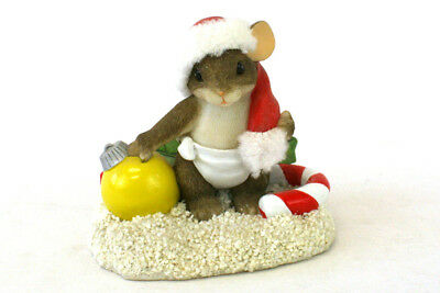 Fitz & Floyd Charming Tails Baby's First Christmas Retired Figurine #87/115