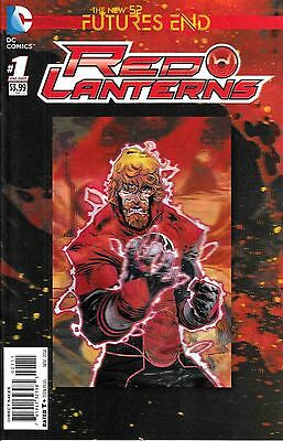 Red Lanterns Futures End #1 (NM)`14 Soule/ Calafiore (3D Cover)
