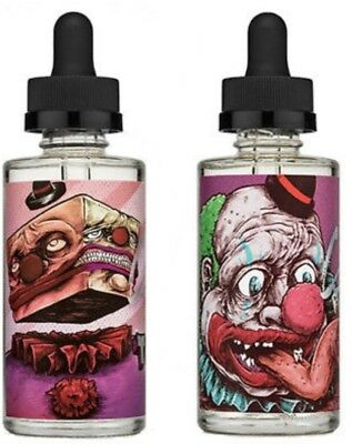 Bad Drip Labs Clown TWISTY 60ml Authentic Sealed SIX LEVEL