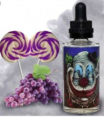 Bad Drip Labs Clown DROOLY 60ml Authentic Sealed ZERO LEVEL