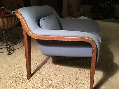 KNOLL BILL STEPHENS Mid Century Modern Arm Chairs Local Delivery Available