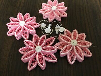 Set Of 2 All Purpose Quilled Greeting Card Art Paper Handmade