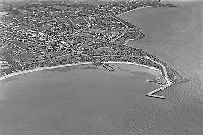 MORNINGTON Beach  Pier & Town Aerial View 1925 modern Digital Photo Postcard