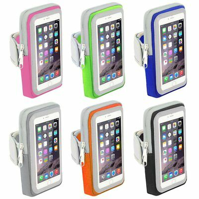 Sport Jogging Gym Arm Band Strap Touch Screen Holder Case Bag For iPhone 8 AU