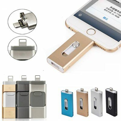 128/256GB Flash Drive OTG USB Memory Stick For iPhone iPad IOS Android PC AU