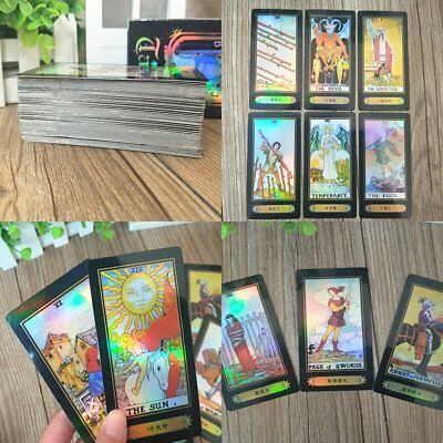 78 Cards Rider Waite Tarot Deck With Box Future Telling Sealed Crative Game AU