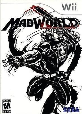 MadWorld Nintendo Wii Complete NM Wii, Video Games