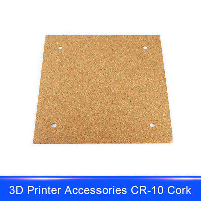 Cork Sheet Adhesive Insulation Plate for 3D Printer Heated Bed CR-10 Ender-3