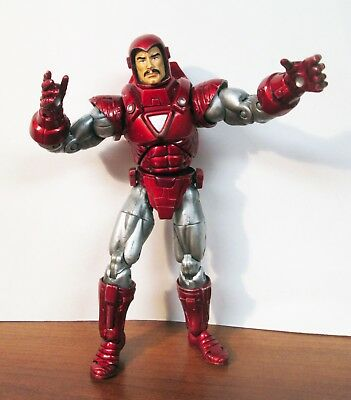 Iron Man Silver Centurion Series 7 VII Marvel Legends Action Figure 2004