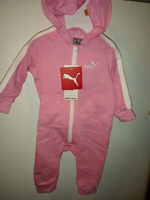 Puma baby girl bodysuit pink various Sizes