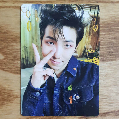 RM Official Photocard BTS Army Bomb ver3 Light Stick Kpop Geunine