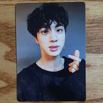 Jin Official Photocard BTS Army Bomb ver3 Light Stick Kpop Geunine