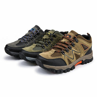 Men's Hiking Shoes New Outdoor Trail Trekking Sneakers Breathable Climbing Shoes