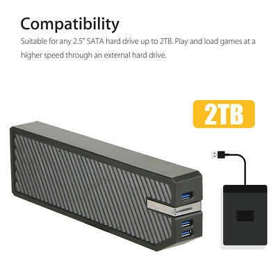 ABS USB3.0 2TB Storage External HDD Adapter Memory Data Bank Expand for Xbox One