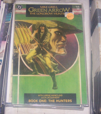 Green Arrow: The Longbow Hunters #1 ([August] 1987, DC) mike grell