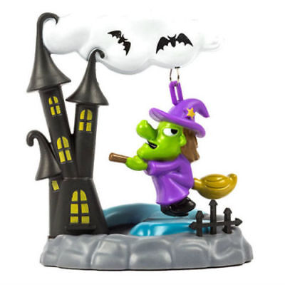 Solar Powered SWINGING WITCH HALLOWEEN Haunted House Motion Toy Gift Flower NEW