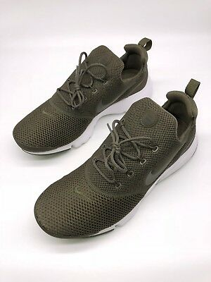 NIKE PRESTO FLY Olive Green White Mens Running Sneakers 908019-201 ... 4207bc060