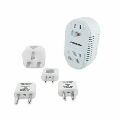 Mobimann 25W/1875W Dual Wattage Universal World Travel Adapter and Voltage Conve