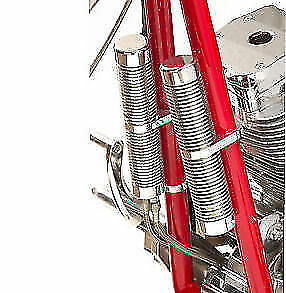 Big Dog Motorcycles Oil Cooler/ Stash Tube Kit Polished Billet Clamps Oil Lines