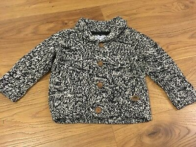 Boys Knitted Cardigan / Jumper VGC Age 12-18 Months Mothercare Winter Jumper