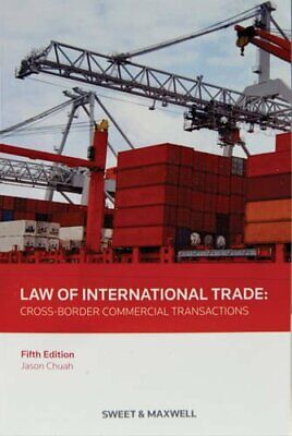 Law of International Trade by Jason Chuah Book The Cheap Fast Free Post