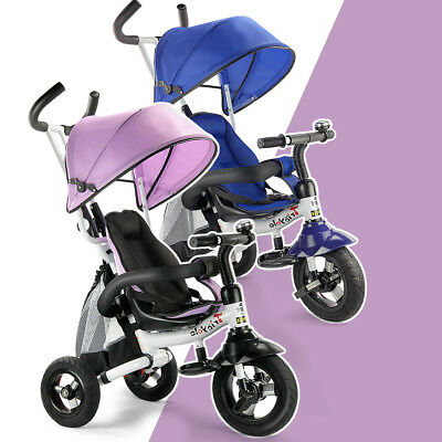 Giantex Kids Baby Toddler Foldable Tricycle Trike Ride-On Toys Stroller Prams