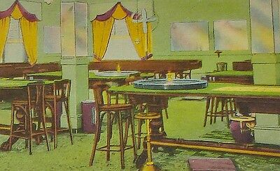 SOUTHPORT GAMBLING CLUB 1940 POSTCARD Illegal Gambling New Orleans Roulette Whee