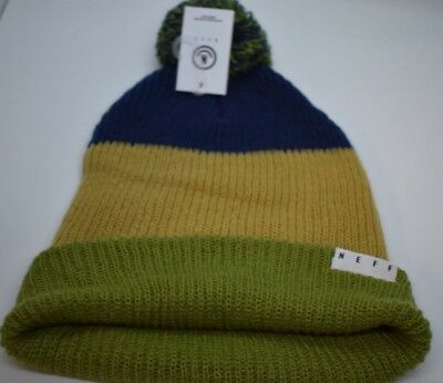 6825aa00230 Unisex Mens Neff Snappy Beanie Winter Knit Hat New