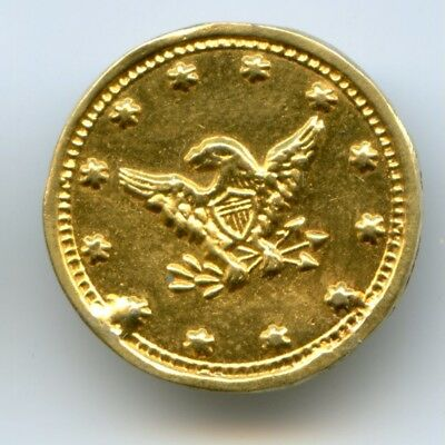 Unknown Undated California Fractional Gold / Eagle & Liberty Head