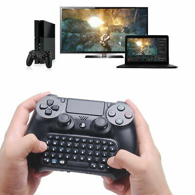 PS4 Mini Bluetooth Funk Tastatur Touchpad Wireless Keyboard für TV Android DE