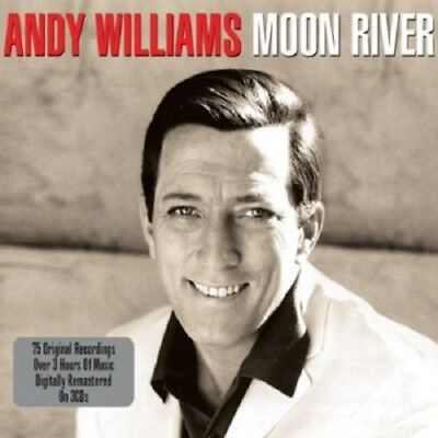 Andy Williams Moon River 3-CD NEW SEALED 2013 Digitally Remastered