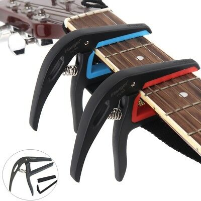 Flanger Light Single-handed Quick Change Electric Acoustic 6-string Guitar Capo