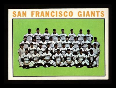 """1964 Topps """"San Francisco Giants"""" Team #257 Nm-Mt! Centered! (Combined Ship)"""