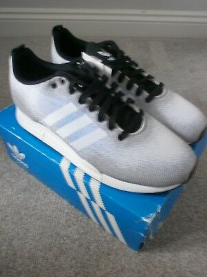outlet store 8afae 7dfe1 Mens Adidas Originals ZX 900 Weave Light Grey Trainers Size 6.5 Euro 40 New  Box